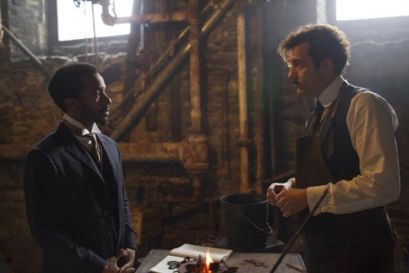 André Holland and Clive Owen inThe Knick