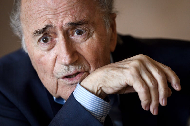 Sepp Blatter Still Really Wants the Watches He Left at FIFA Back
