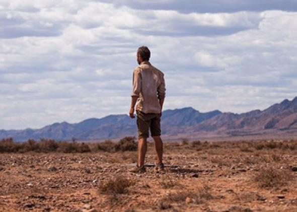 Guy Pearce in The Rover (2014).
