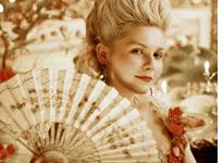 Kirsten Dunst as Marie Antoinette. Click image to expand.