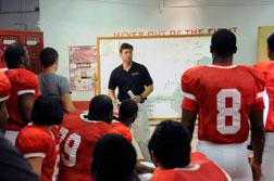 Kyle Chandler as Coach Eric Taylor. Click image to expand.