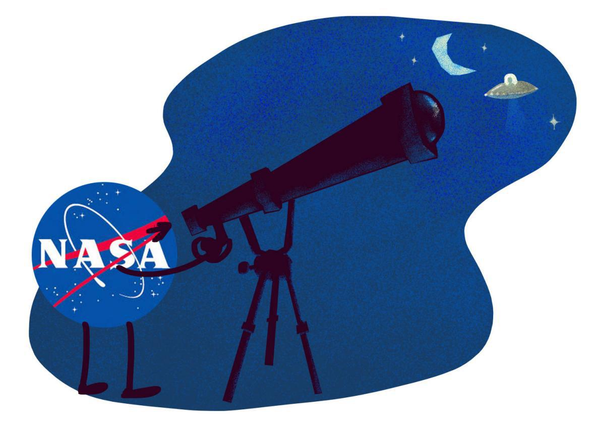 Illustration by Natalie Matthews-Ramo. Logo by Nasa.