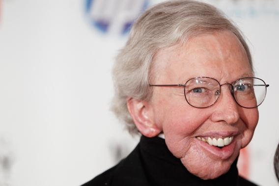 Roger Ebert attends the Webby Awards in New York June 14, 2010.