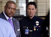 Forest Whitaker and Keanu Reeves in Street Kings. Click image to expand.