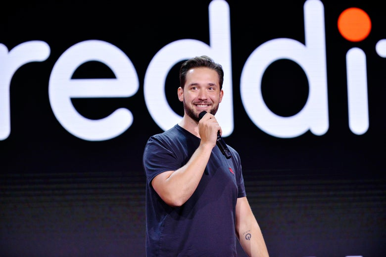 LOS ANGELES, CA - JULY 31:  CEO of Reddit Alexis Ohanian attends WORLDZ Cultural Marketing Summit 2017 at Hollywood and Highland on July 31, 2017 in Los Angeles, California.  (Photo by Jerod Harris/Getty Images for PTTOW!)