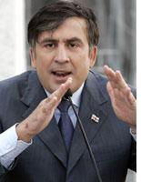 Georgian President Mikheil Saakashvili. Click image to expand.