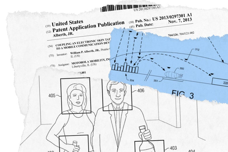 Images and text from various patents.