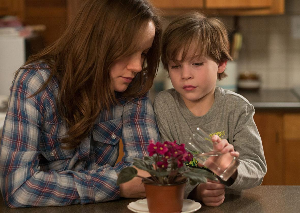 Brie Larson and Jacob Tremblay