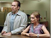 Cage and Lohman in Matchstick Men: Not nearly cagey enough