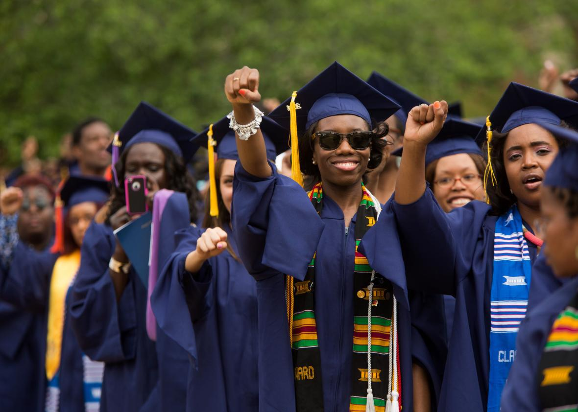 Will This Student Graduate White And >> Black College Graduate Wealth Why It Was Decimated By The Recession