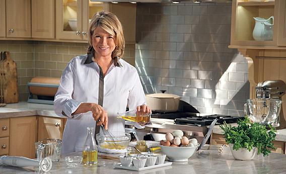 Martha Stewart's Cooking School.