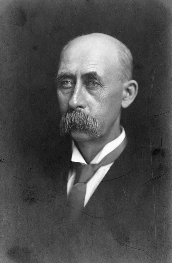 An undated portrait of Deacon White.