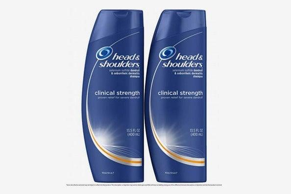 Head and Shoulders Anti Dandruff Clinical Strength, Seborrheic Dermatitis Shampoo