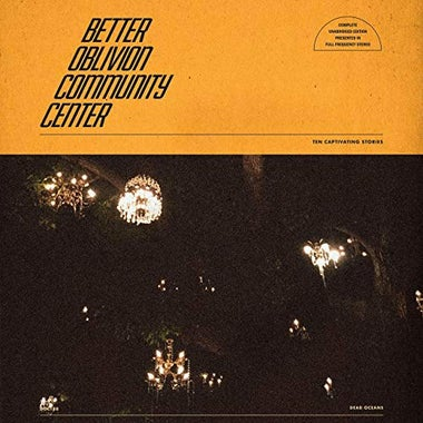 Better Oblivion Community Center album cover.