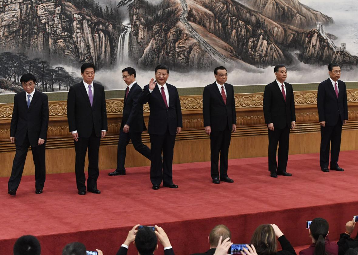 Communist Party of China's Politburo Standing Committee