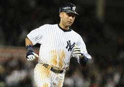 Derek Jeter #2 of the New York Yankees. Click image to expand.