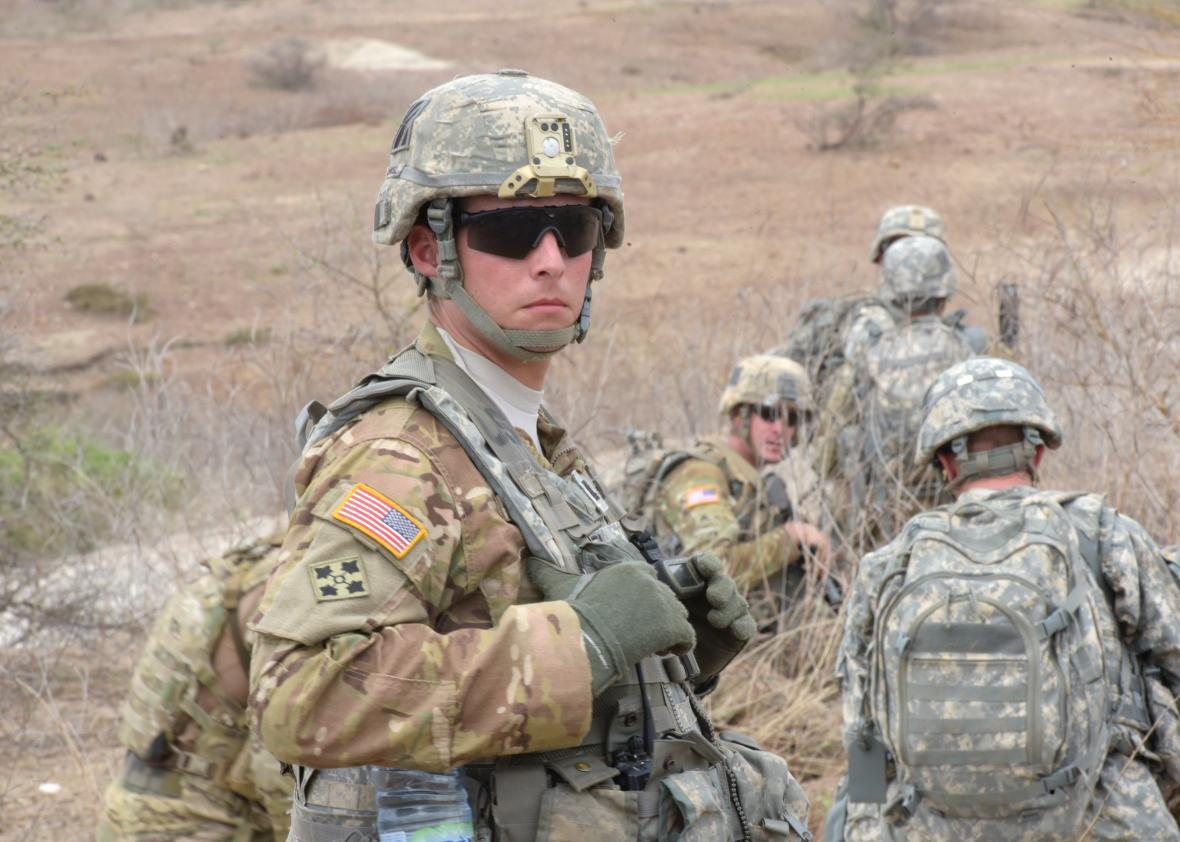 US solders in Senegal