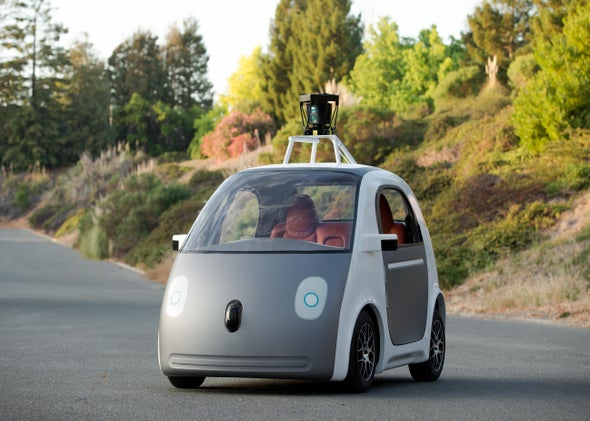 Google's new self-driving car doesn't require a driver at all.