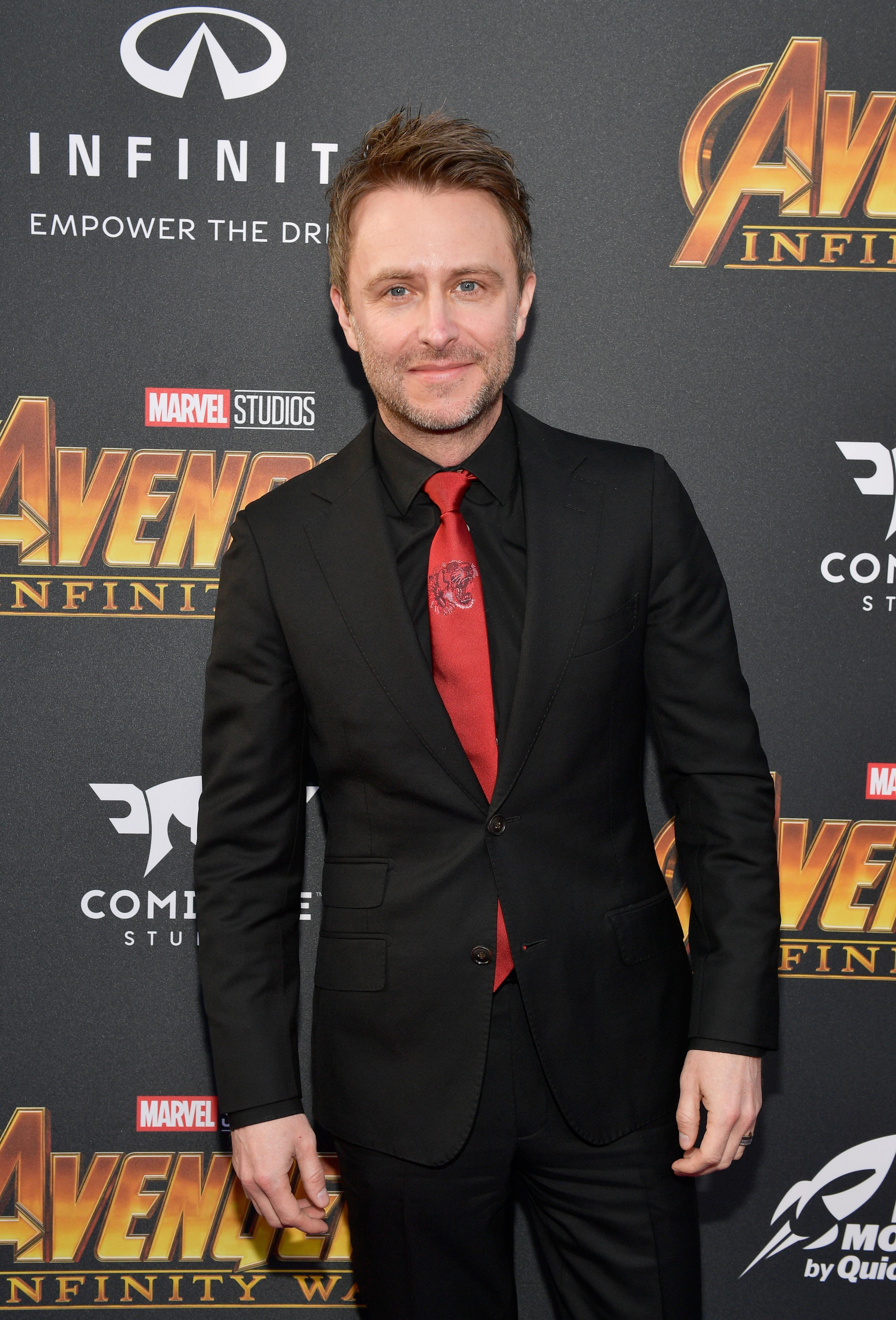 Chris Hardwick attends the Los Angeles Global Premiere for Marvel Studios' Avengers: Infinity War on April 23, 2018 in Hollywood, California.
