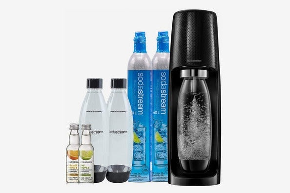 SodaStream Fizzi Sparkling Water Maker Bundle