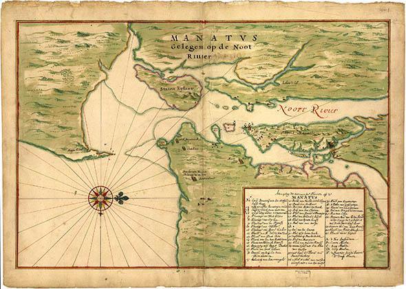 Staten Island, New York, in 1638