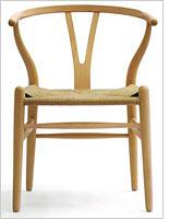 """The """"Wishbone"""" chair          Click image to expand."""