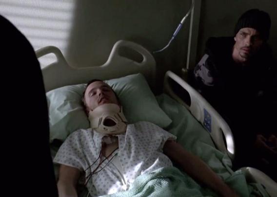 Aarol Paul as Jesse Pinkman in Breaking Bad.