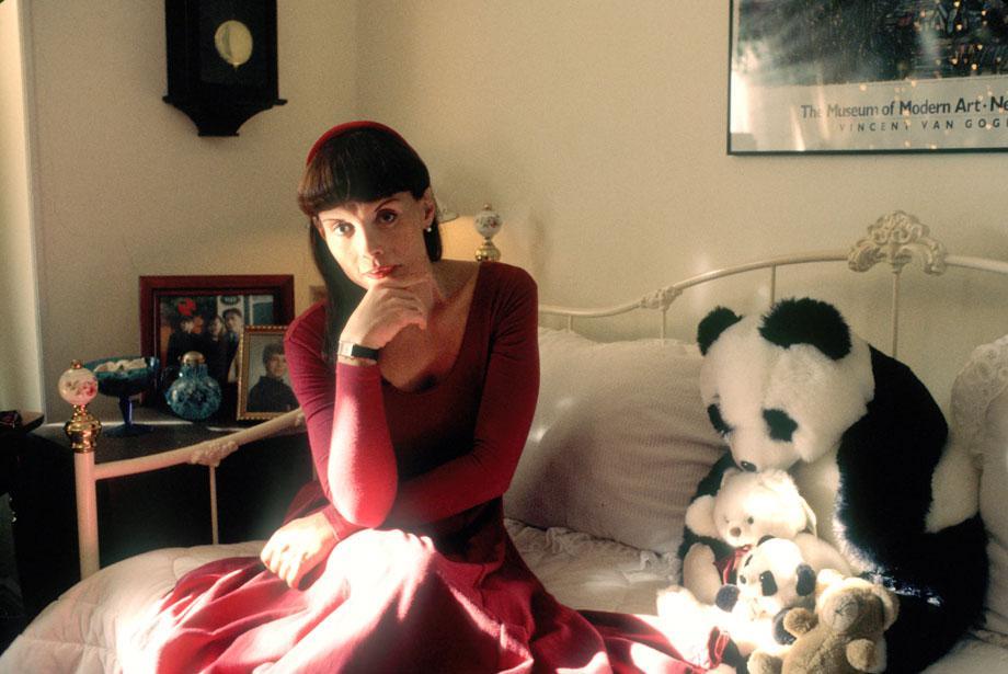 Antonia alone at Christmas