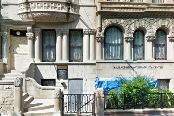 The New York headquarters of the Ramakrishna-Vivekananda Society.