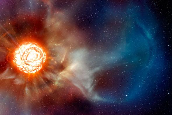 Betelgeuse: Astronomers give it 100,000 years before it explodes.