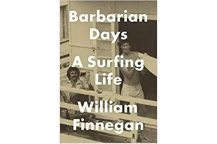 Barbarian Days book cover.