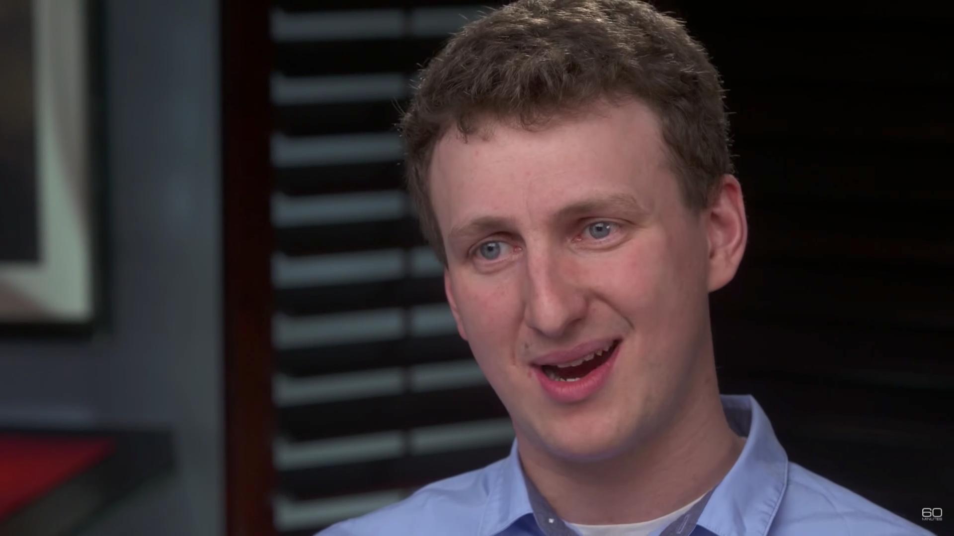 Researcher Aleksandr Kogan talks to CBS' 60 Minutes.
