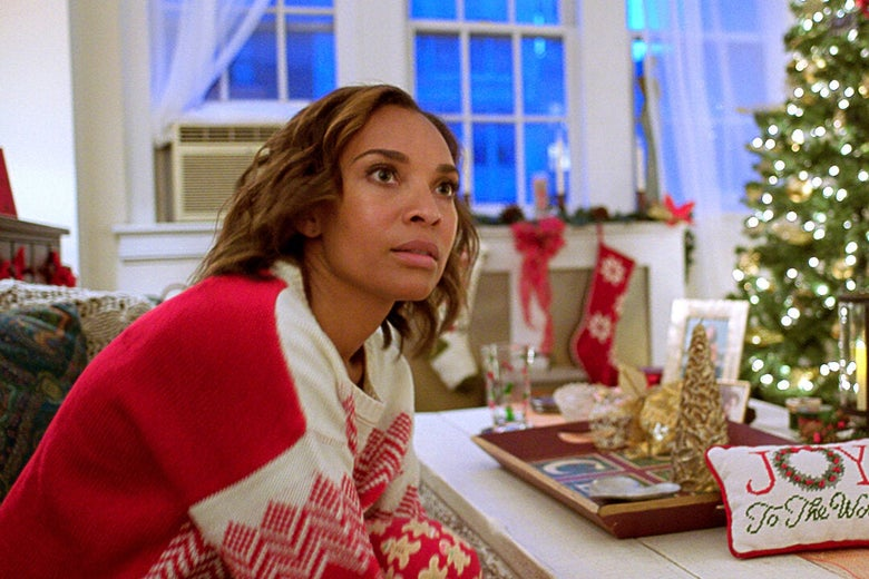 Netflix's A New York Christmas Wedding Is a Wild, Howlingly Bad Holiday Movie for the Ages