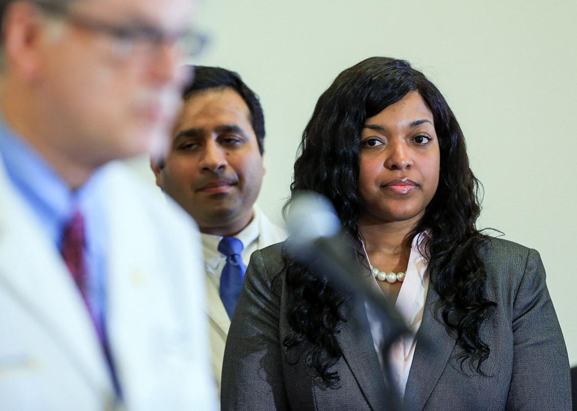 Amber Vinson, a Texas nurse who contracted Ebola after treating