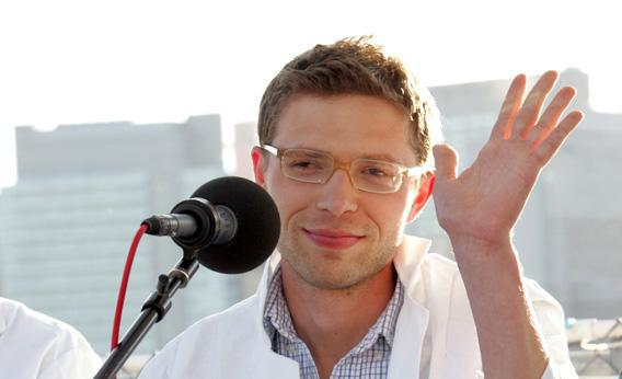 Science writer and contributor to Radio Lab, Jonah Lehrer.