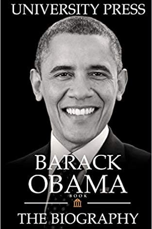 The cover of Barack Obama Book.