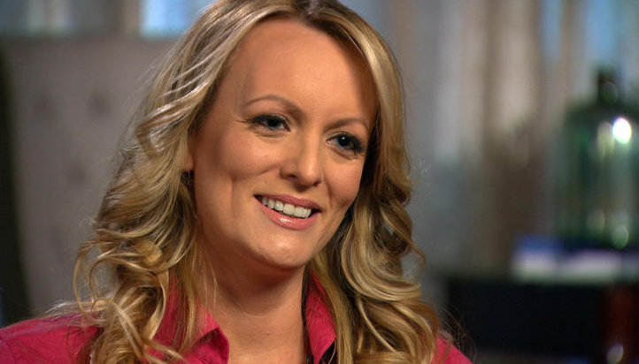 Stormy Daniels on 60 Minutes.