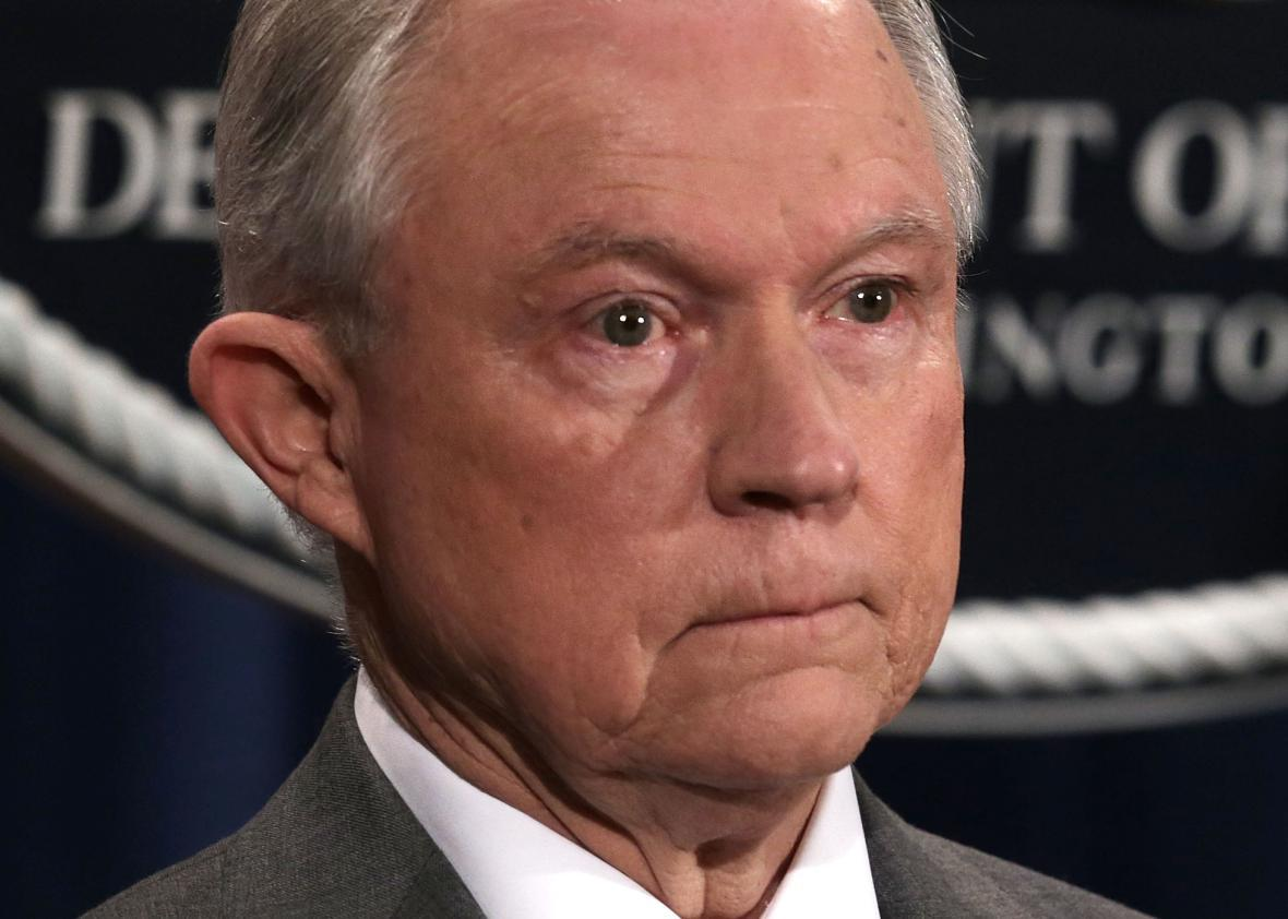 Sessions task force doesn't recommend crack down on legal marijuana.