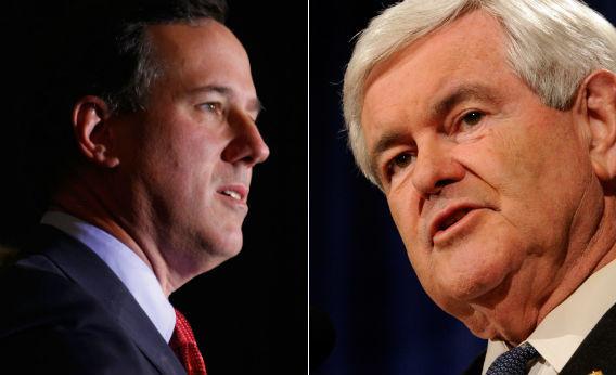 Santorum and Gingrich