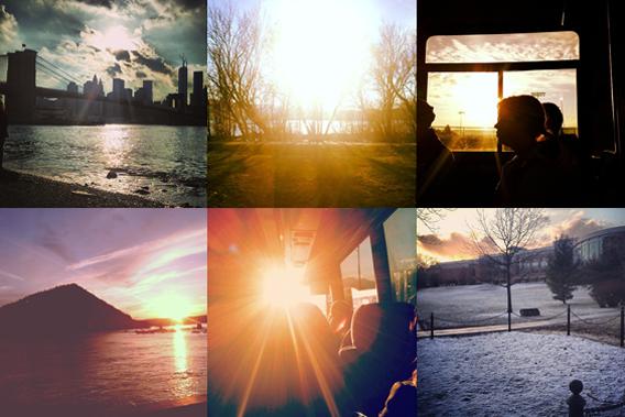 Instagram sunsets.