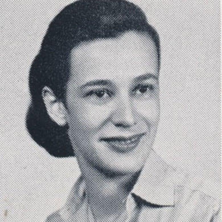 Yearbook photo of Carol Brosnahan.