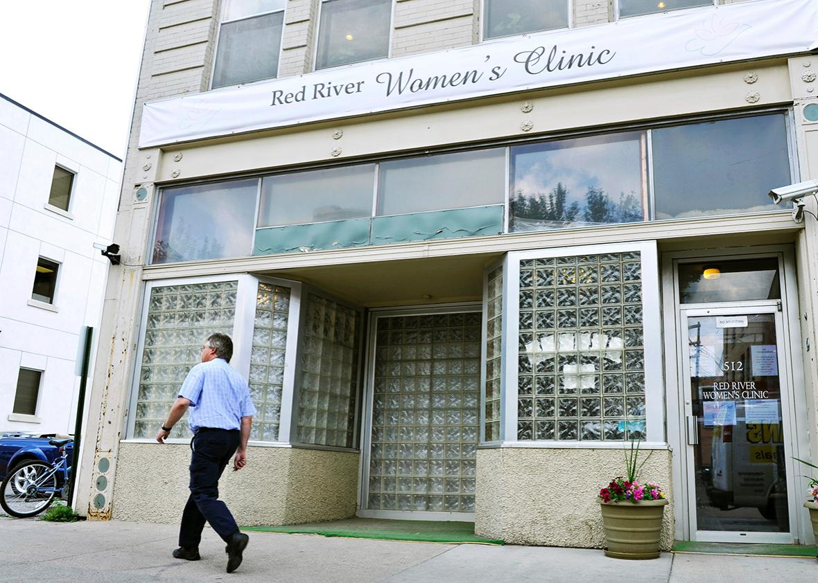 The Red River Women's Clinic is pictured in downtown Fargo, North Dakota July 2, 2013.
