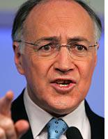 British Conservative party leader Michael Howard