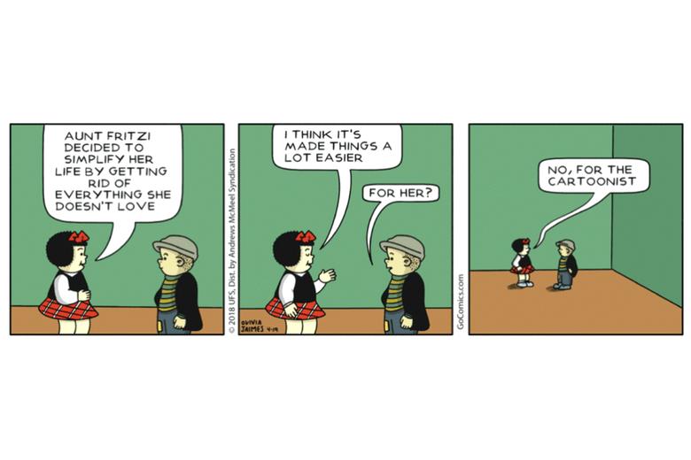 Meta-humor in Jaimes' Nancy, circa 2018.