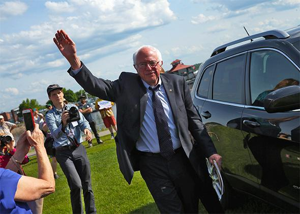 Bernie Sanders presidential campaign kickoff