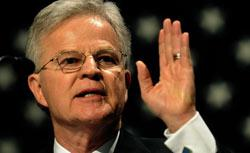 Former Louisiana Gov. Charles Elson 'Buddy' Roemer, III. Click image to expand.