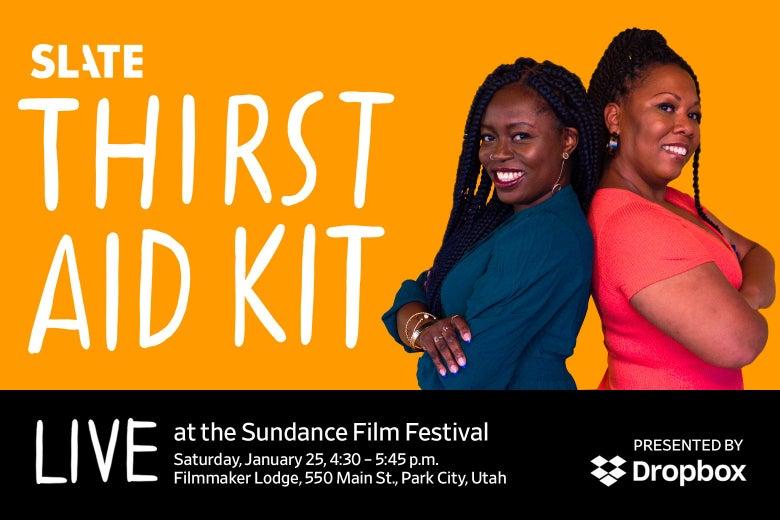 Dropbox plus slate at Sundance description