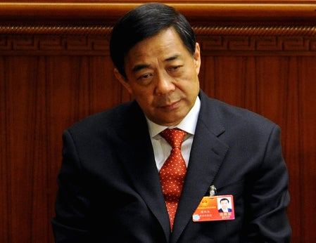 Bo Xilai: The formerly popular Communist Party politician has been charged with corruption in China.