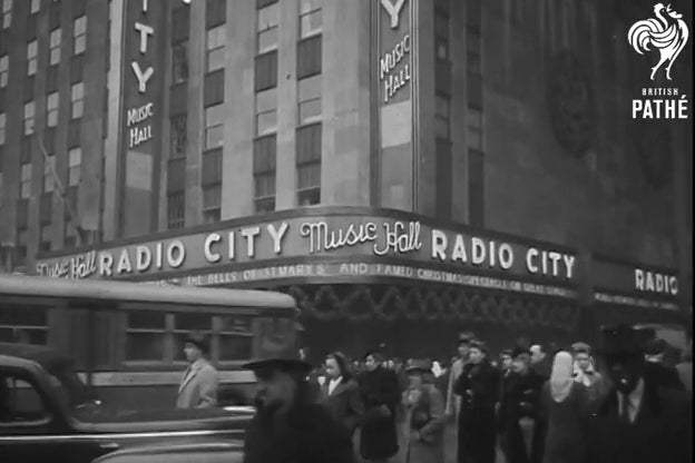 MTV VMAs: Here Is Some Newsreel Footage of Radio City Music Hall From the 1940s