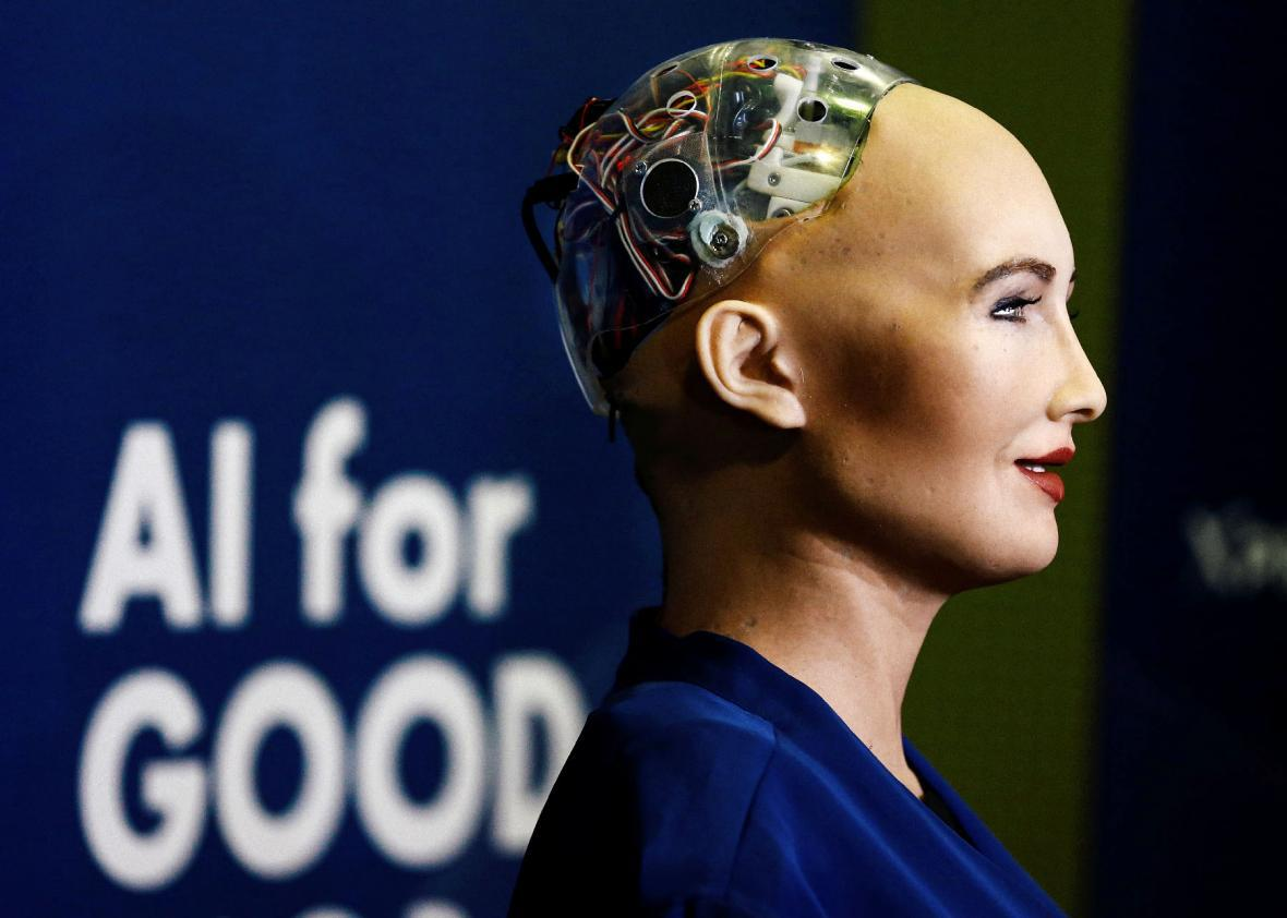 What rights does a robot get with citizenship?